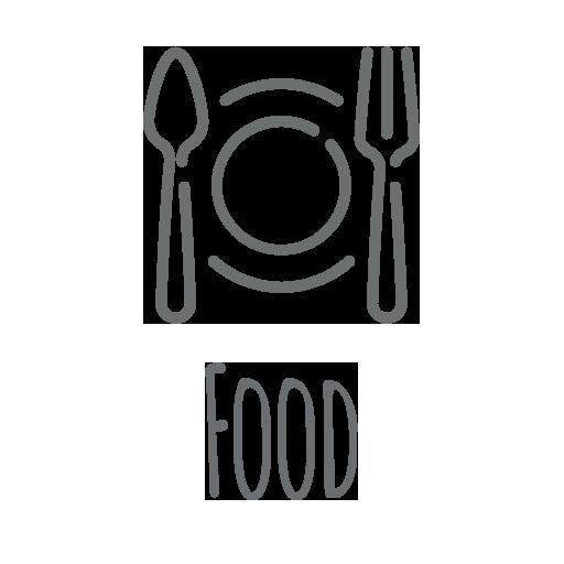 Hemp Icons Food